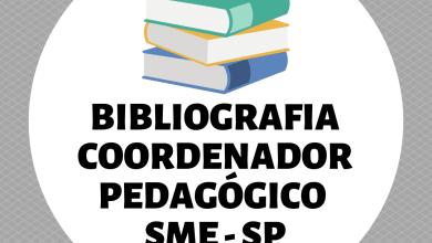 Photo of Bibliografia – Coordenador Pedagógico – SME – PMSP 2019