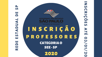 Photo of Processo Seletivo Para Professores – 2020 – SEE/SP – SEDUC/SP