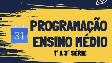 Photo of Programação CMSP Ensino Médio – 29/04/2020