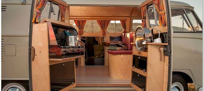30 Wonderful RV ideas for a simple and winter vacation