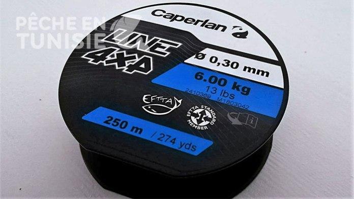 Fil 4x4 caperlan 0,30mm