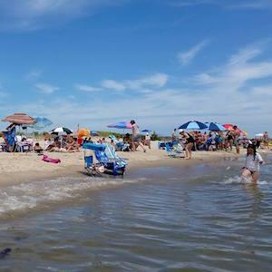 July 24, 2:30 p.m., New Suffolk Beach