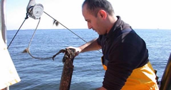 Bassem Allam on Raritan Bay | SoMAS Photo