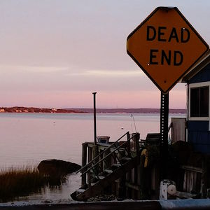 Nov. 5, 5:20 p.m., Cutchogue Harbor from Orchard Street
