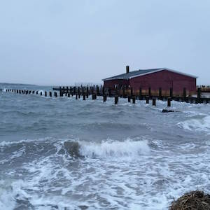 Jan. 24, 7:35 a.m., Capt. Marty's Fishing Station, New Suffolk