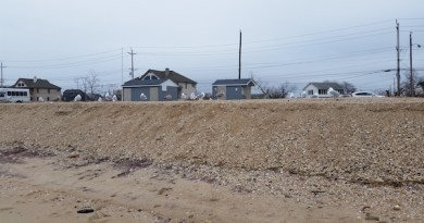 After Winter Storms, Southold's Town Beach In Danger of Breach