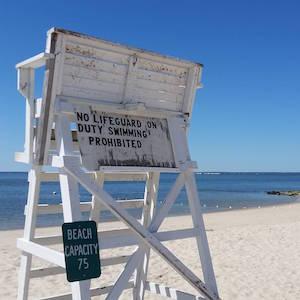 June 26, 10:30 a.m., New Suffolk Beach