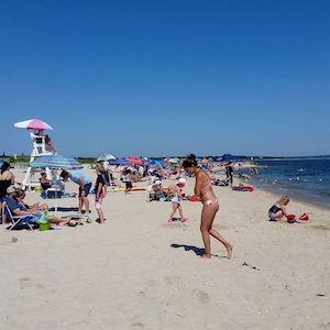 July 16, 3:25 p.m., New Suffolk Beach