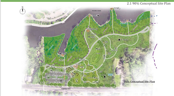 Riverside Maritime Trail Plan Near Complete