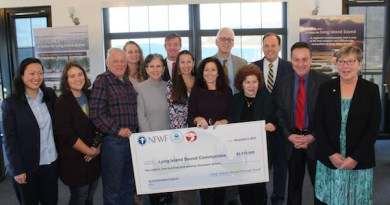 Local environmental leaders celebrated federal funding for the Long Island Sound.