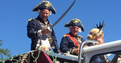 Greenport Harbor Brewery Founders Rich Vandenburgh & John Liegey were the Grand Marshals of the parade.