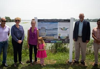 Celebrating Montauk's Floating Wetlands