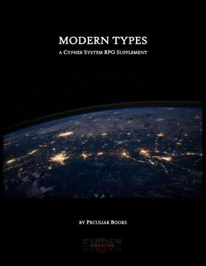 Cover for the Modern Types supplement