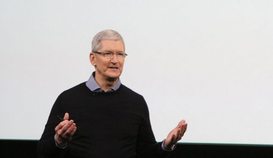 all eyes on Tim Cook