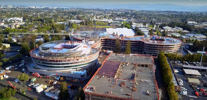 Apple Campus 3: Drone video flyover   Philip Elmer‑DeWitt