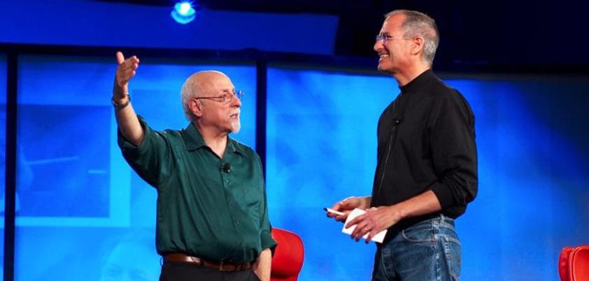 Walt Mossberg and Steve Jobs