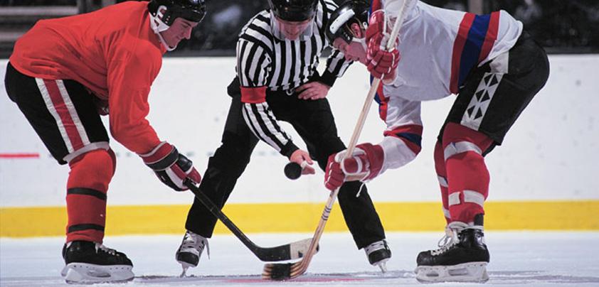 hockey face off