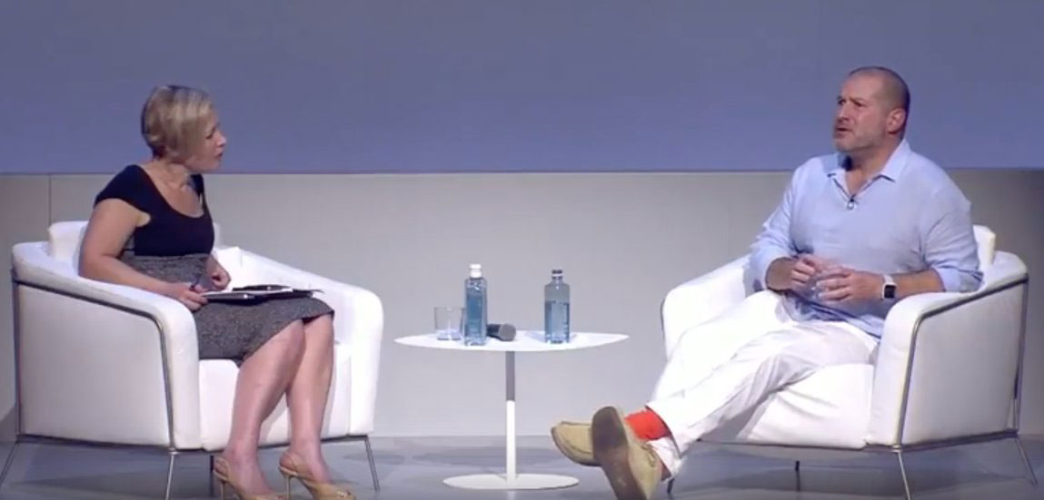 Apple: A Jony Ive Q&A I'd never seen before (21 min. video)