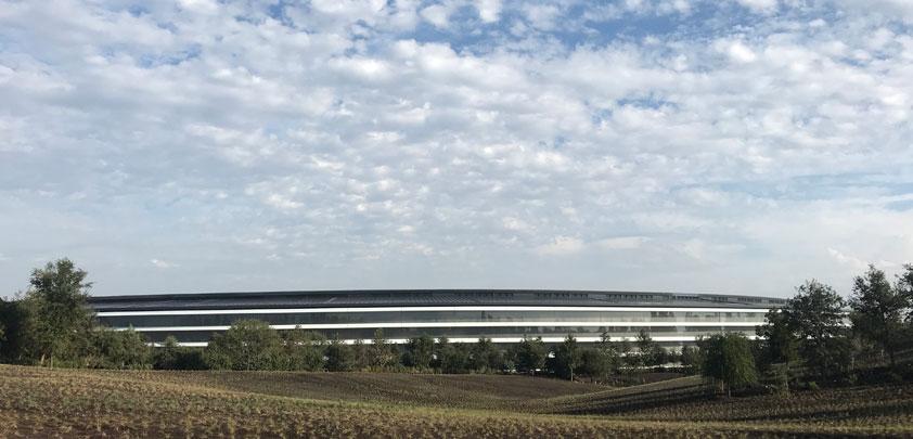 Apple spaceship from Inside Apple Park