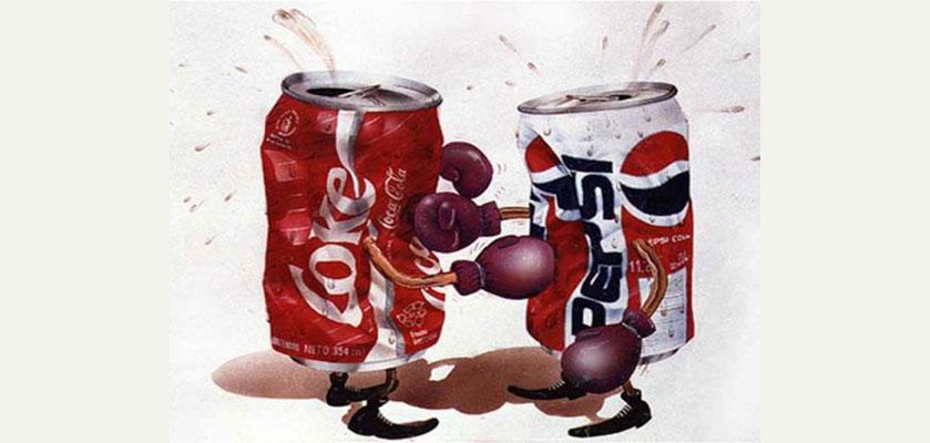 ad wars coke vs. pepsi