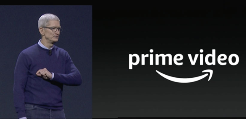 tim cook promises amazon prime video