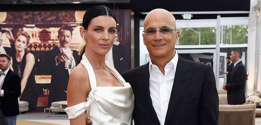 Liberty Ross and Jimmy Iovine at the Vanity Fair Oscar party