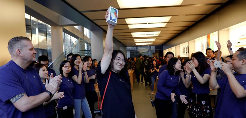 iphone x supply chain