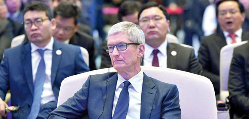 apple cook's speech china