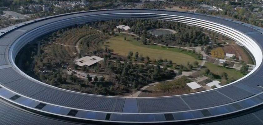 apple park december