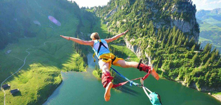 peak iphone bungee jump