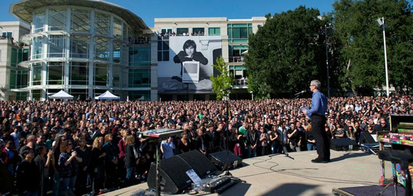 5k apple employees