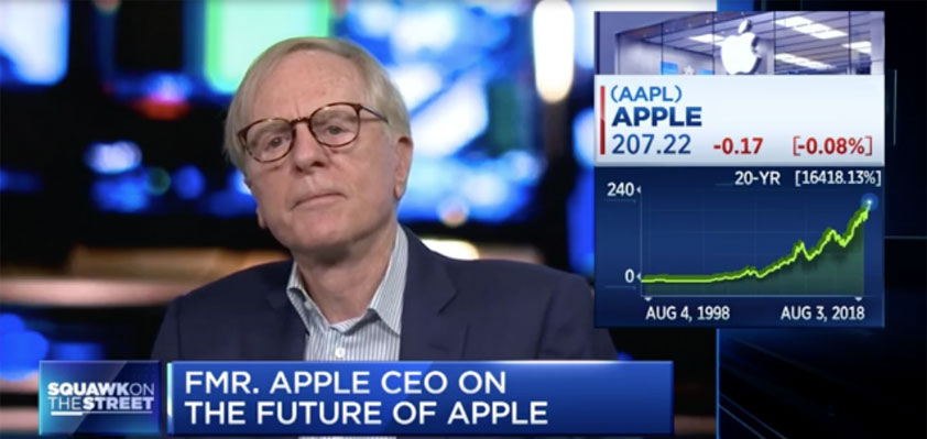 John Sculley Tim Cook