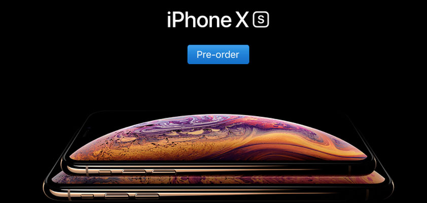iPhone Xs pre-orders