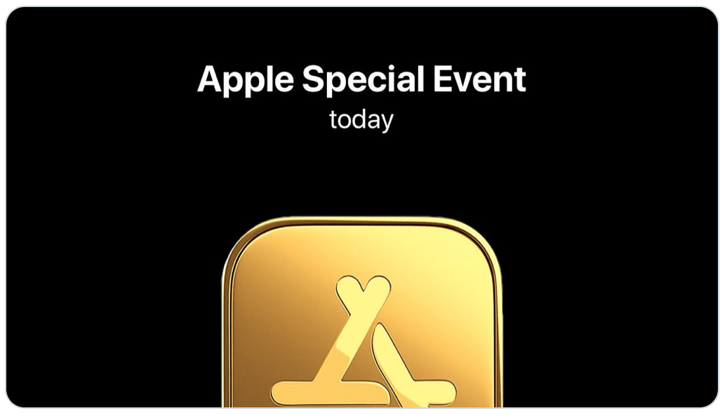 Apple december two event