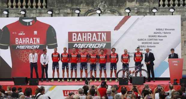 Team Bahrain Merida e SuperOp