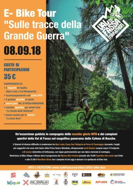 E-Bike Tour Val di Fassa