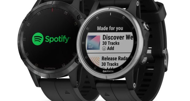 Garmin Fenix5Plus Spotify