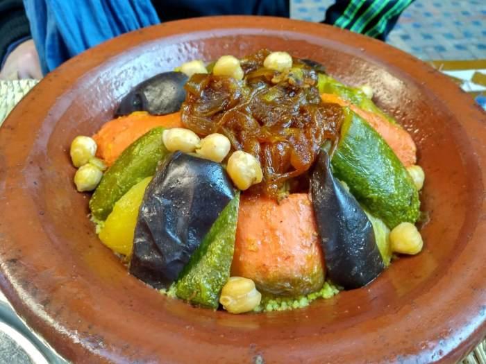 cuscús especialidades de Marruecos