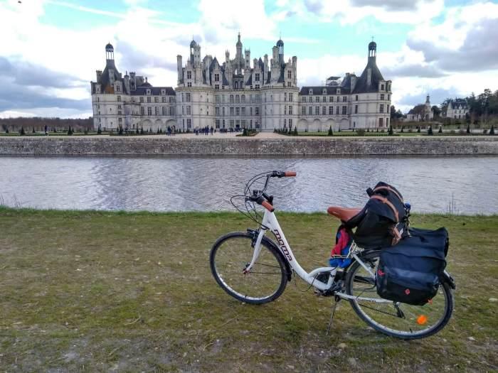 Castillos del Loira en bicicleta Chambord