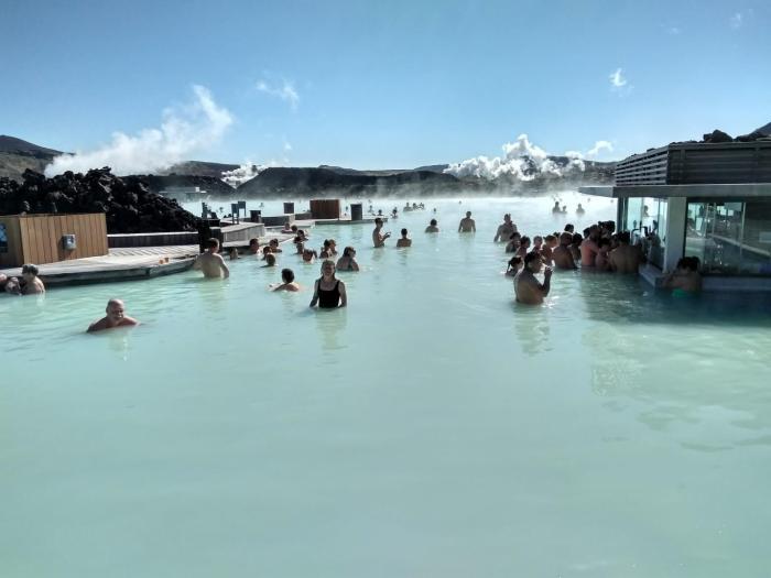 7 días por Islandia blue lagoon