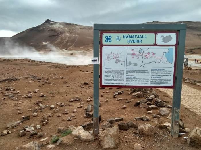 7 días por Islandia namafjall