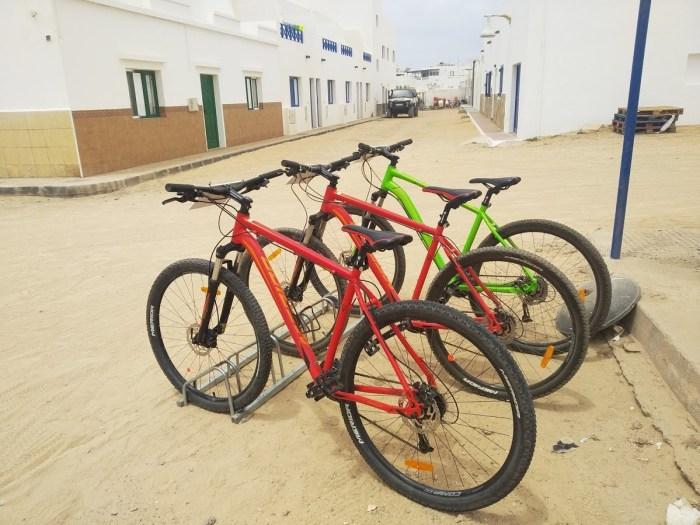 Alquiler de bicicletas en Caleta de Sebo