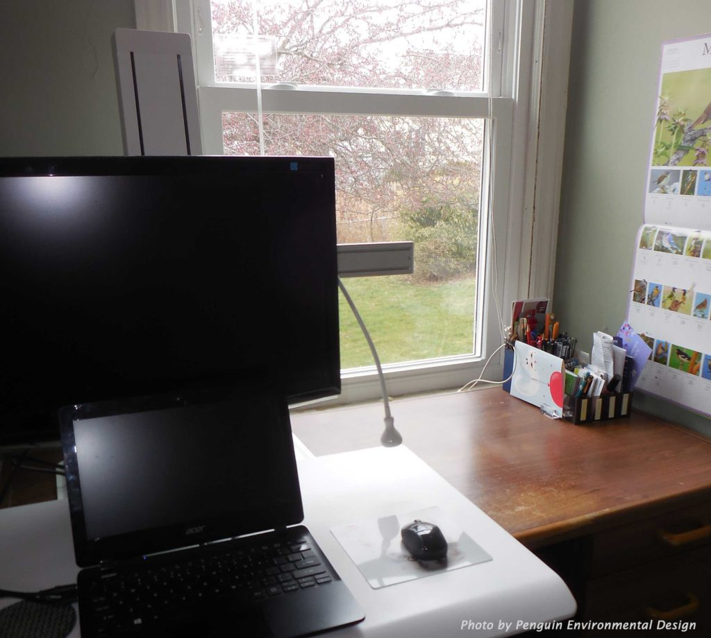 Choose your primary work station to fit the nature of your work.