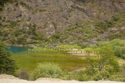 Lago Bertrand em degradê