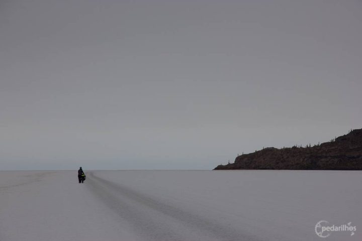 Chegando a Isla Incahuasi