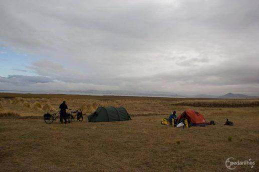 Mais uma incomum manhã nublada na temporada seca do altiplano boliviano
