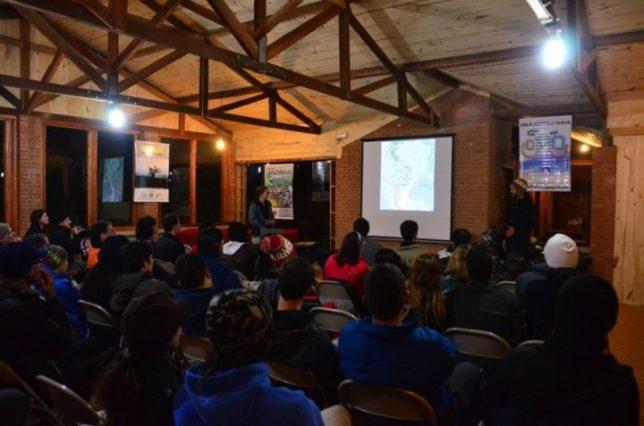 Palestra Dois anos de Bicicleta pela América do Sul. Foto Jorge Blanquer