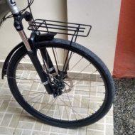 Link 8 - Passo a passo para modificar um bagageiro dianteiro para bike com suspensão dianteira