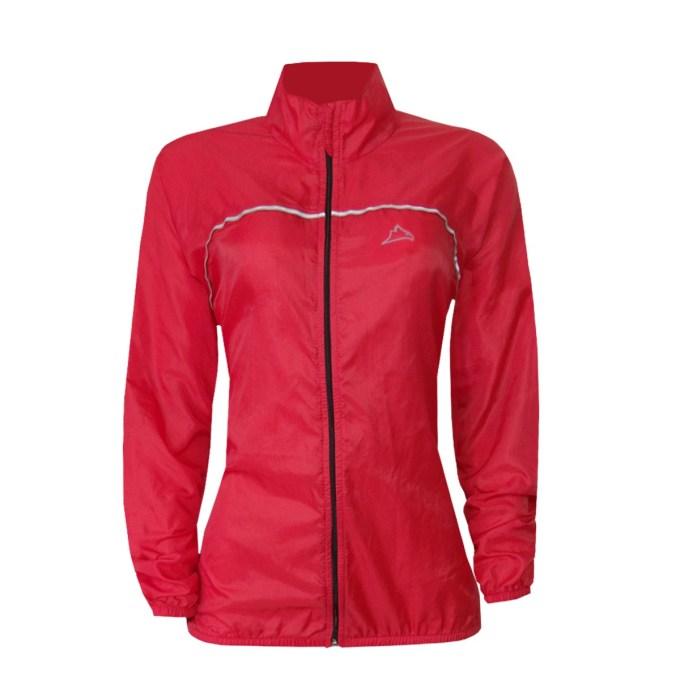 Corta Vento Shelter Bike Lady Vermelho para mulheres