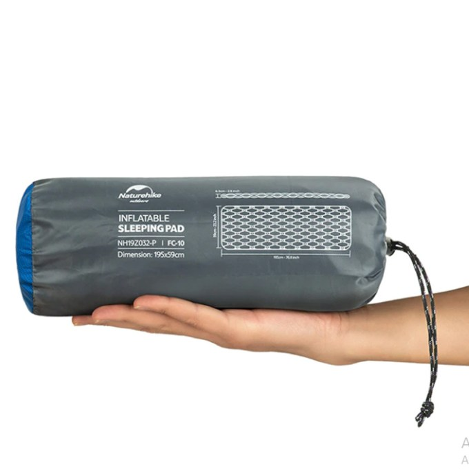 Isolante Inflável Sleeping Pad FC-10 NatureHike